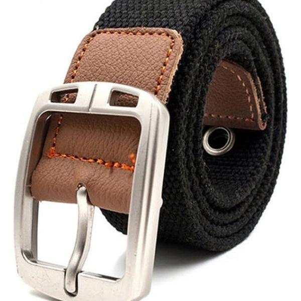 Unisex pásek - tmavé barvy