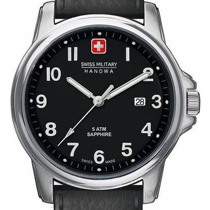 Swiss Military Hanowa 4231.04.007 + pojištění hodinek, doprava ZDARMA, záruka 3 roky