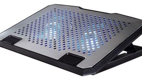 Chladící podložka pro notebooky Hama Aluminium (53064)