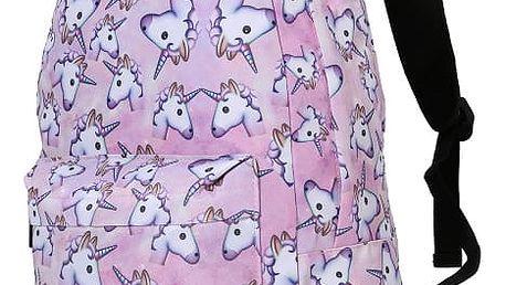 Dívčí batoh s jednorožci