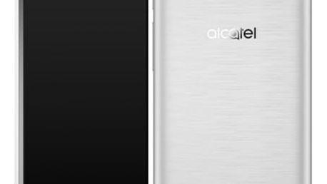 Mobilní telefon ALCATEL POP 4 5051D (5051D-2BALE11) stříbrný