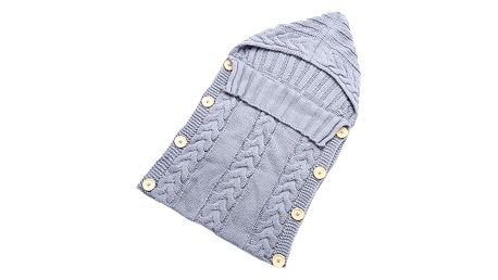 Pletený spací pytel pro miminka - 6 barev