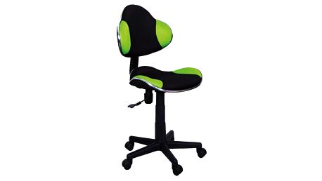 Kancelářská židle Q-G2 Signal 436 zelená/černá