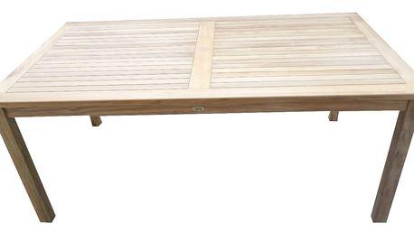 Garden II. hranatý teakový stůl (Zahradní stůl z teaku)