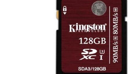 Paměťová karta Kingston 128GB UHS-I U3 (90R/80W) (SDA3/128GB)