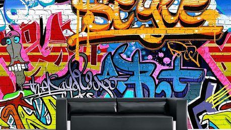 1Wall 1Wall fototapeta Graffiti 315x232 cm