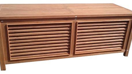 Teaková truhla II. na polstry 160 cm (zahradní nábytek teak)