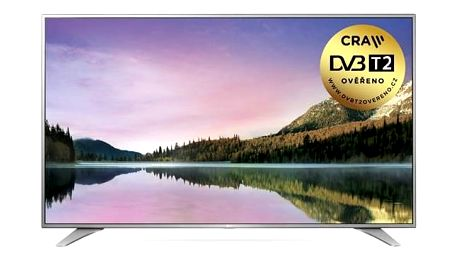 Televize LG 60UH6507 stříbrná/chrom + Doprava zdarma