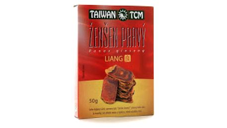 Ženšen Taiwan TCM Liang - ženšen pravý 50 g