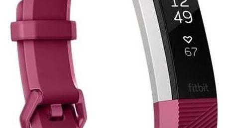 Fitness náramek Fitbit Alta HR large - Fuchsia (FB408SPML-EU) + Doprava zdarma