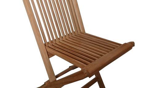 Clasic teaková skládací židle (zahradní židle teaková)