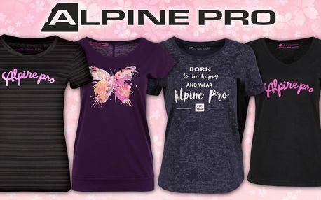 Dámská trička Alpine Pro