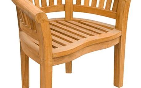 Banana/Peanut teakové křeslo (Zahradní židle teak)