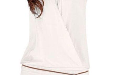 Elegantní šaty bez rukávů - Bílé - velikost č. 1