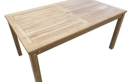 Garden I. hranatý teakový stůl (Zahradní stůl z teaku)
