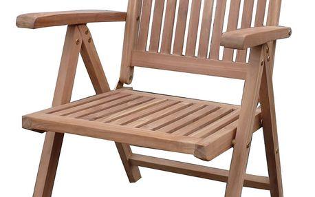 Edy teaková polohovací židle (zahradní nábytek teak)