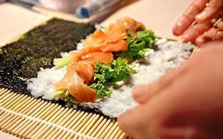 Zážitkový kurz přípravy sushi 23. září v Praze - netradiční druhy sushi