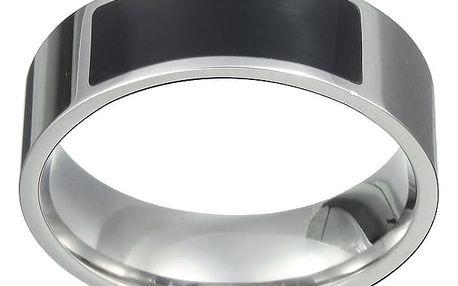 NFC chytrý prsten - stříbrný, vel. 9