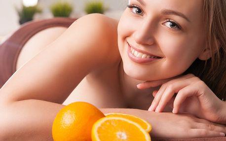 Mandarinková nebo levandulová antistresová masáž