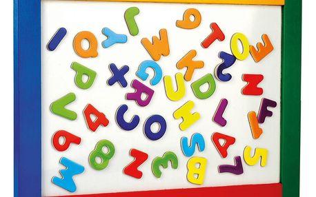 Bino Magnetická závěsná tabule s písmenky