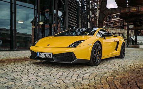 Jízda v Lamborghini na Moravě, Olomouc, 15 km, 1 osoba, 15 minut