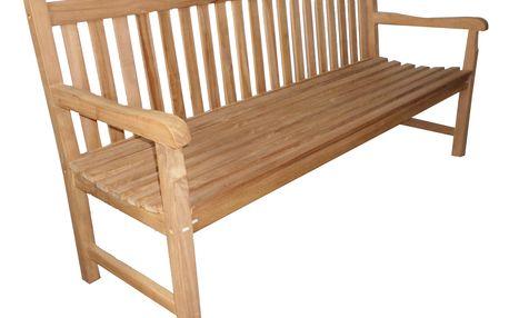 Roma teaková lavice 180 cm (zahradní nábytek teak)