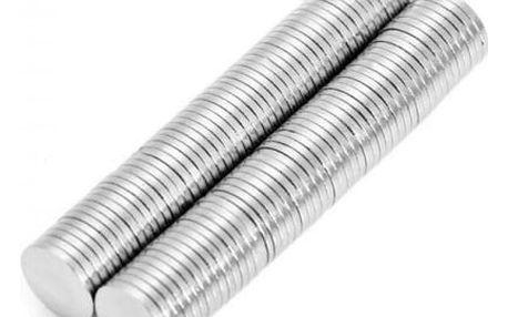 Neodymové magnety 8 x 1 mm - 100 ks