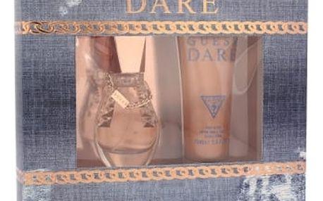 GUESS Dare dárková kazeta pro ženy toaletní voda 30 ml + tělové mléko 75 ml