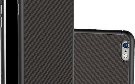 Nillkin Synthetic Fiber Ochranný Zadní Kryt Carbon Black pro iPhone 6/6S - 29631