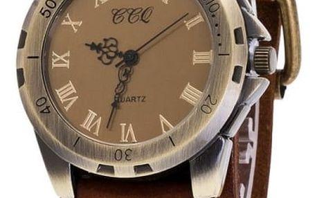 Pánské vintage hodinky s římskými číslicemi - různé barvy