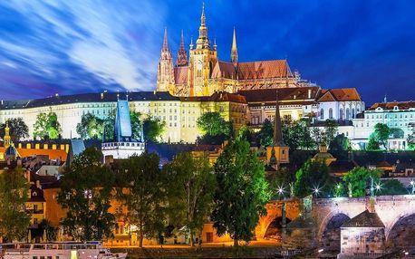 Hotel Golden Golem v klidné části Prahy se snídaní