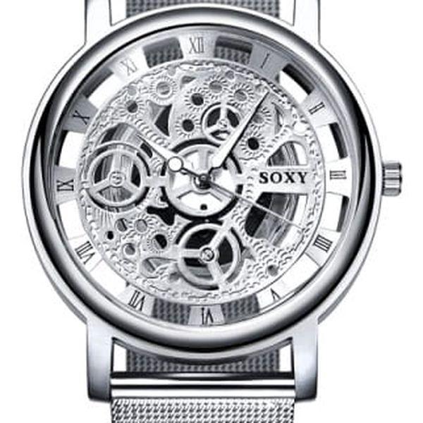 Dámské hodinky ve 2 barvách - elegantní