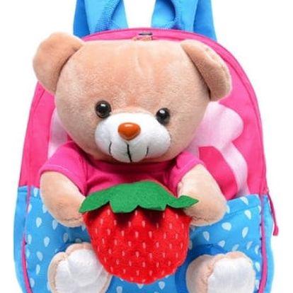 Dětský batůžek s medvídkem - 2 barvy