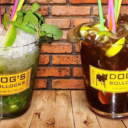 Maxi Cuba libre nebo Mojito v Dog's Bollocks