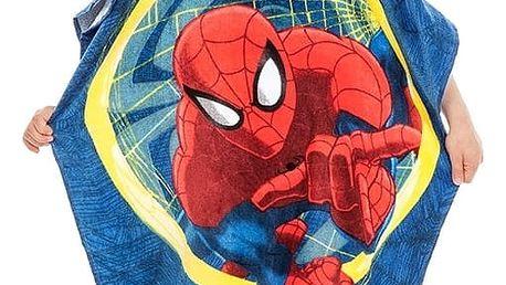 Jerry Fabrics Dětské pončo Spiderman, 60 x 120 cm