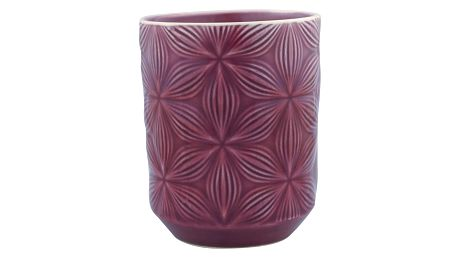 GREEN GATE Keramický šálek Kallia plum, fialová barva