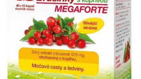GS Brusinky Megaforte s kopřivou 40+10 kapslí