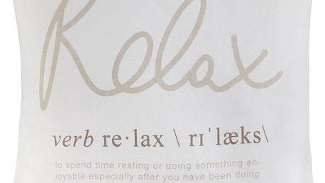 Polštář ozdobný relax 01, 45/45 cm