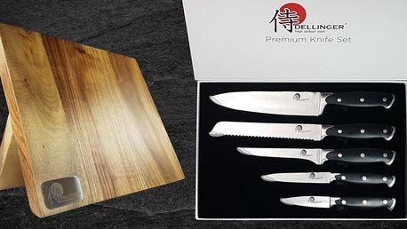 Souprava pro ostření nebo sada 5 nožů japonské kvality