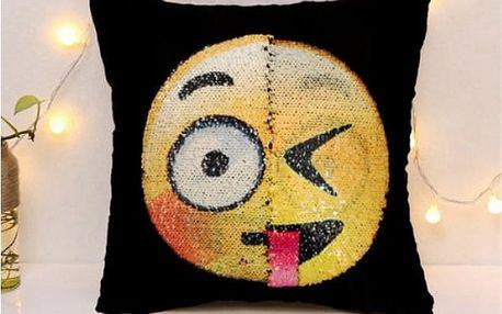 Povlak na polštářek měnící náladu Emoji
