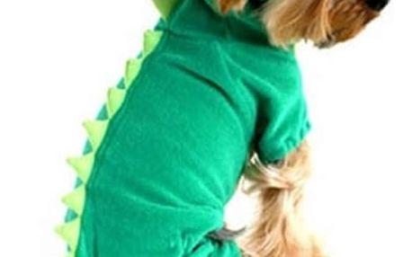 Dinosauří obleček pro pejsky
