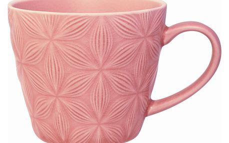 GREEN GATE Keramický hrnek Kallia pale pink, růžová barva, keramika