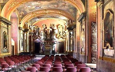 Zářijové večerní koncerty W. A. Mozarta v Zrcadlové kaple Klementina.