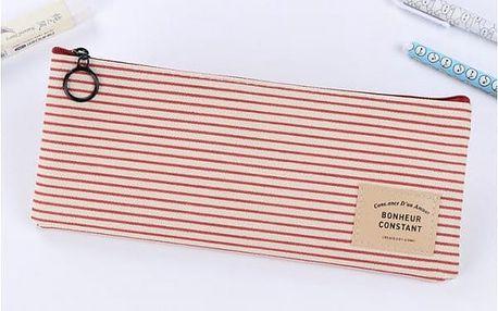Plátěný školní penál