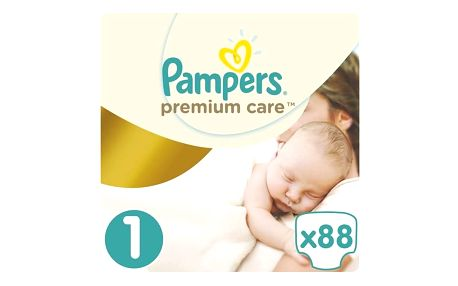 Plenky Pampers Premium Care Newborn vel. 1, 88 ks