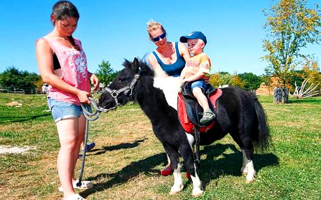 Rodinný pobyt na Farmě Blaník plný zážitků