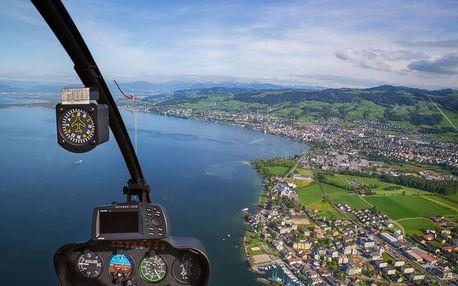 Vyhlídkový let ve vrtulníku nad Brnem, Brno-Tuřany, 1 osoba, 15 minut