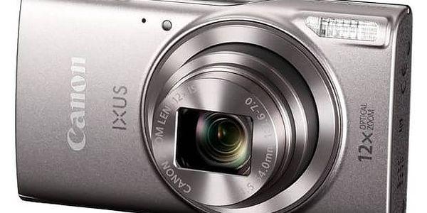 Digitální fotoaparát Canon IXUS 285 HS stříbrný + Doprava zdarma