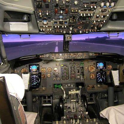 Pilotem dopravního letadla Boeing 737