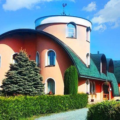 Pobyt nedaleko Adršpachu s polopenzí pro dva